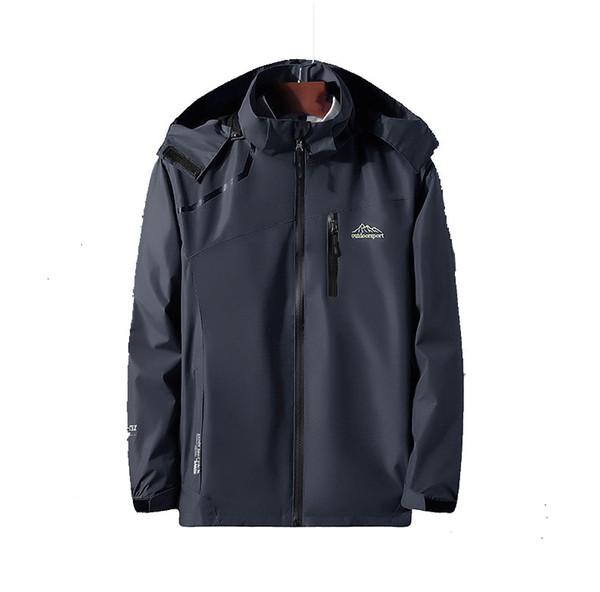 Дизайнер мужчины с длинным рукавом спортивный костюм куртки 2018 осень новое прибытие Марка капюшоном спортивная куртка легкий вес теплый Хранитель размер L-4XL