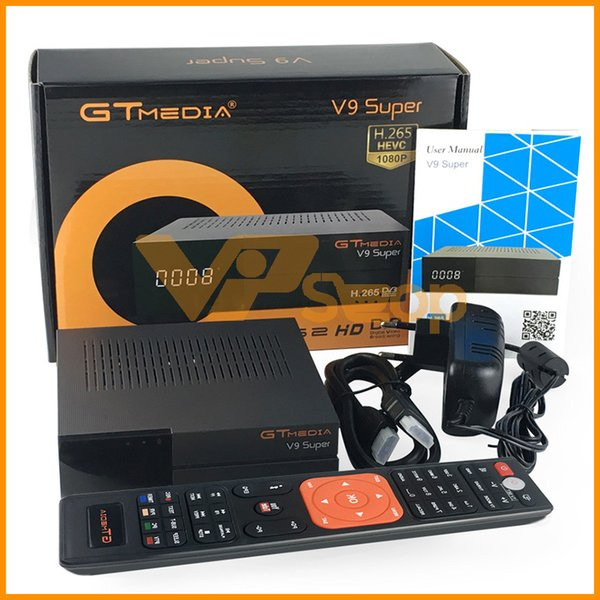 GTMedia V9 Super Satellite Receiver Bult-in WiFi Full HD Smart Set Up Box DVB-S2 Freesat V9 Super Receptor Mini TV Box