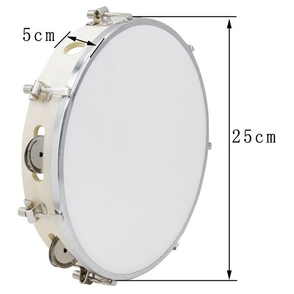 best selling ABLD-10 in Tambourine Capoeira Leather Drum Tambourine Samba Brasil Wooden Tambourine Precussion Music Instrument For Sale 150