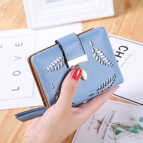 Designer Brand Women's Wallet Purse Female Small Wallet Perse Portomonee Portfolio Lady Short Carteras