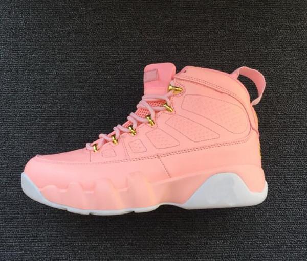 Sapatilhas de luxo casuais 12 GS limonada rosa sapatos das mulheres 9 s rosa limonada sapatilhas de alta qualidade mulher formadores para venda 5sag