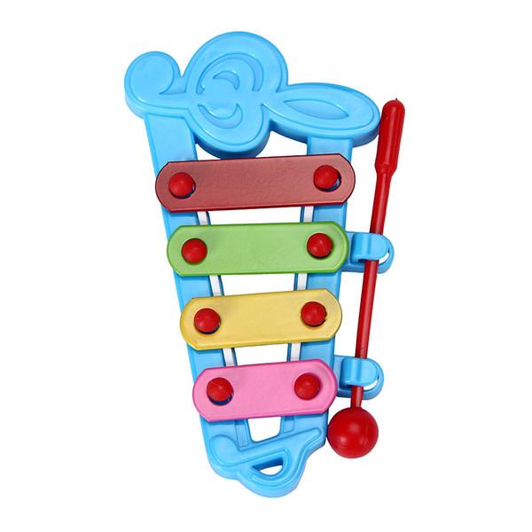 35 PCS 2018 Bebê Kid 4-Note Xilofone Brinquedos Musicais Sabedoria Instrumento Musical de Desenvolvimento Presente Para A Criança AIJILE