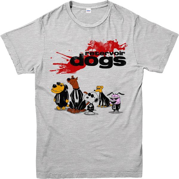 Details zu Reservoir Dogs T-Shirt, Cartoon-Hunde-Design-T-Shirt, Inspiriert Top