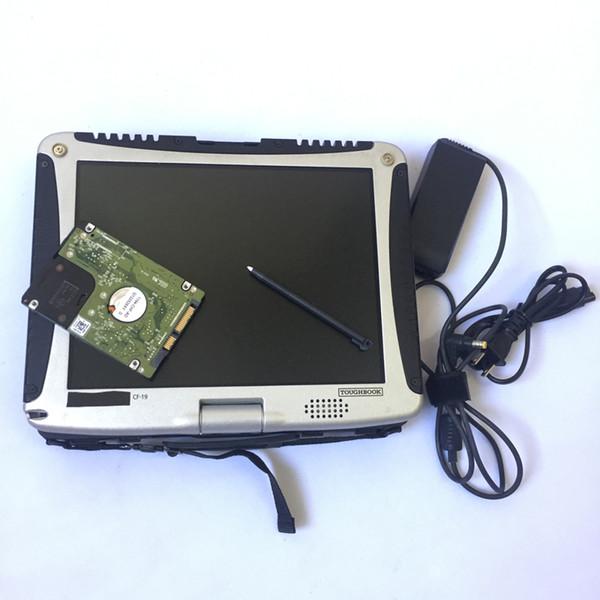 Hochwertiges Toughbook CF19 CF-19 Laptop Toughbook für Panasonic Laptop CF 19 für SD C3 / MB C4 / MB Star C5 Alldata-Software