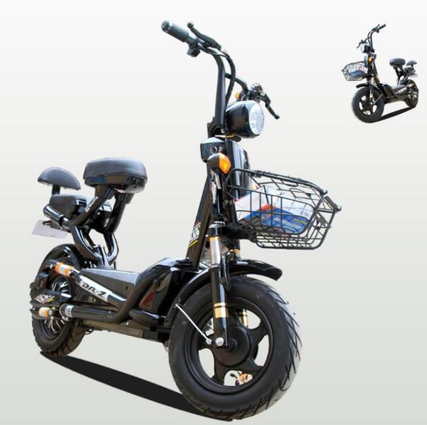 carro adulto Scooter elétrico de duas rodas 48v veículo recreacional