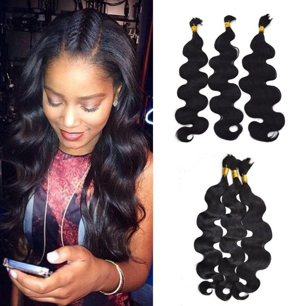 RUSSIAN Hair Weaves In Bulk Hair Body Wave 3 paquetes de color 100% natural para mujeres negras en existencia LaurieJ Hair