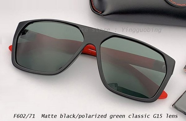 negro mate / poalrizado verde clásico G15