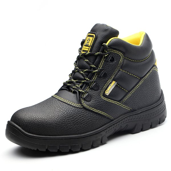 MEN SAFETY TRAINERS SHOES BOOTS WORK STEEL TOE BREATHABLE CAP HIKER ANKLE SIZE