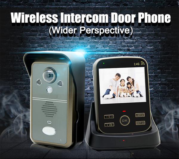 "XINSILU Multi-language Security Intercom System 3.5"" Wireless Digital Video Door Phone Motion Sensor&Taking Photos Function 1V1"