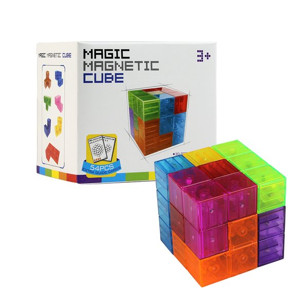 Magic Cube Twisty puzzle speed Magnetic cube 3x3x3 professional Magnets Building Set Games Educational Toys for children