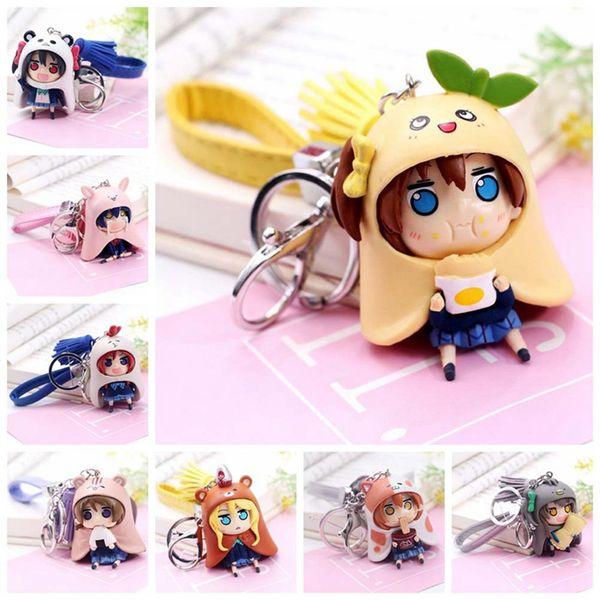 1 Pc Lovely Anime Love live PVC Llavero Lovelive Bag Colgante Llavero Cosplay Figura juguete