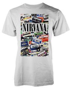 Унисекс 'кассеты' футболка-новый официальный!