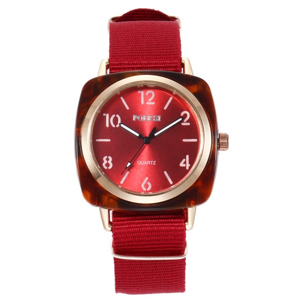Men/Women Watches Nylon Strap Wrist Watch Fashion Quartz watches round Dial Sport Business Couple Unisex Men Watch