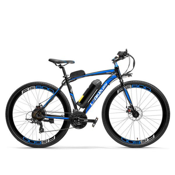 RS600 700C Electric Bike, 36V 20Ah Battery, Both Disc Brake, Aluminum Alloy Frame, Endurance Up To 70km,20-35km/h, Road Bicycle.