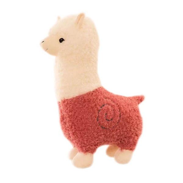 Stuffed Rainbow Alpaca Plush Toys Cute Llama Alpacasso Stuffed Animal Toy for Baby Girl Boy Kids Birthday Gifts 28cm