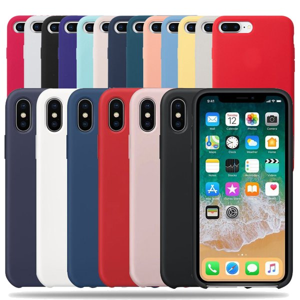 Caja del teléfono para Iphone 6 8 7 Plus para Iphone X Xr Xs Max Cubierta suave para Iphone 6s 5 Se 5s Shell