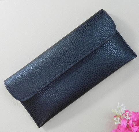 Fashionable leather wallet thin wallet woman fashion Hasp ladies Slim purse cards holder clutch bag money