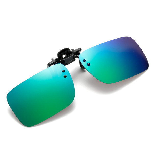 Novo tipo de clipe especial para óculos polarizados ultraleves para miopia pode ser girado de cabeça para baixo clipe quadrado espelho ÓCULOS DE SOL RETROS TODOS