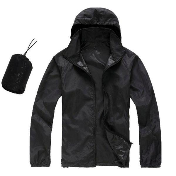 Men's Spring/Autumn Thin Jacket Coat Outdoor Waterproof Quick Dry Camping Jackets women Windproof UV Protection Outdoor Sport Skin Jacket