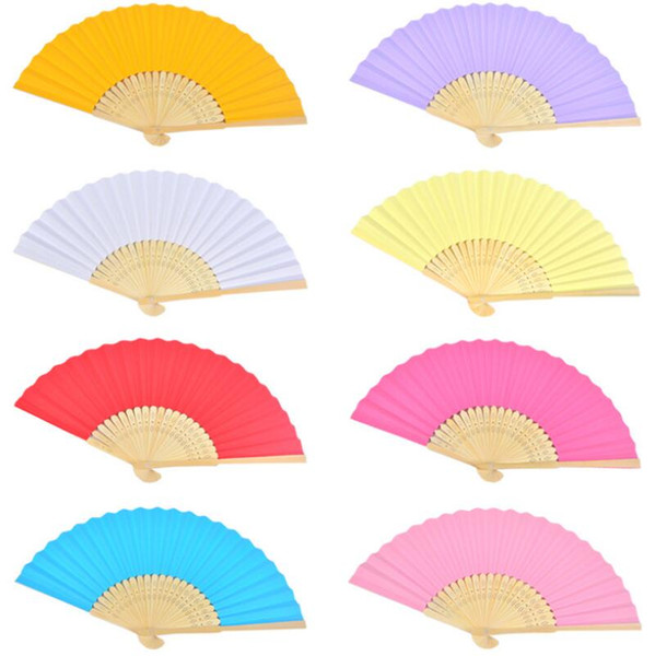 Express Free Shipping 500pcs Personalized Silk wedding hand fans silk wedding fans LX7362