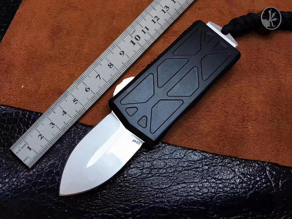 BENCHMADE BM Mini Automatic Knife D2 Blade Aeronautical Aluminum Handle Outdoor Tactical Survival Camping Folding Knife EDC Key Clasp Knife