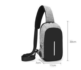 Creative Men's Chest Bag Outdoor Casual Men's Bag Multi-function Small Satchel Free Shipping Random Gifts2