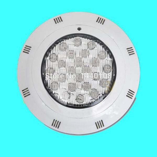4pcs / lot 24w LED AC 12V RVB IP68 LED de lumière de piscine sous-marine télécommandée led feux de bateaux éclairage extérieur éclairage de bassin