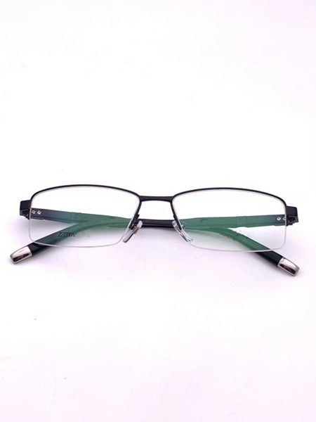 The latest selling popular fashion men designer glasses 19699 metal combination frame top quality anti-UV400 lens with box