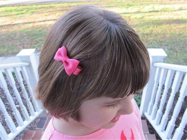 1.7Inches Kids Nylon baby girl hair barrettes Sequins Fox Mermaid Unicorn Rainbow Clippers Girls Hair Clips JOJO SIWA Hair Accessories