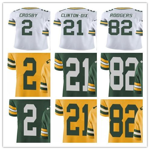 size 40 5ec42 bca95 2019 Custom Green Bays Men Women Youth Packer Jersey #2 Mason Crosby 21 Ha  Ha Clinton Dix 82 Richard Rodgers Vapor Limited Jerseys From Sports0308, ...