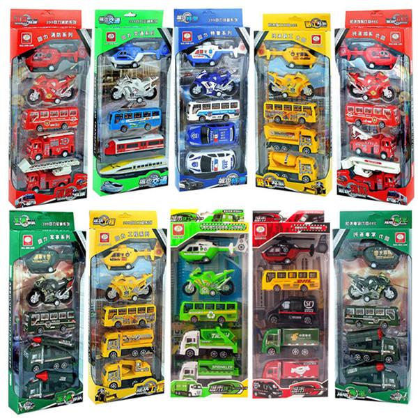 Tuğla ve harç perakende süpermarket çocuk büyük boy oyuncak araba huili araba çeşitli stilleri mühendislik araç itfaiye aracı çocuk oyuncakları
