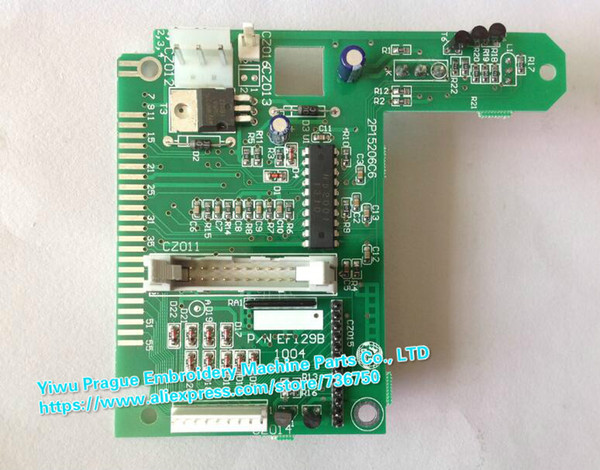 P/N EF129 EF129A EF129B EF129K Card Thread Break Detection Board Chinese embroidery machine Dahao system electronic spare parts