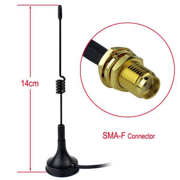 Новый SMA-F UHF400-470 МГц 5 Вт магнитный автомобиль 14 см антенна для Kenwood Baofeng Hot