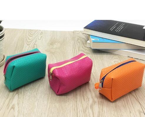 2018 Franbrani coreana impressione solido borsa moneta, ricamo tessuto borsa raccolga pacchetto portafoglio chiave moneta # 32172