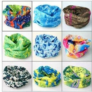 Bandanas Scarves Multifunctional Outdoor Cycling Masks Scarf Magic Turban Sunscreen Hair band Riding Cap Multi Styles Wholesale