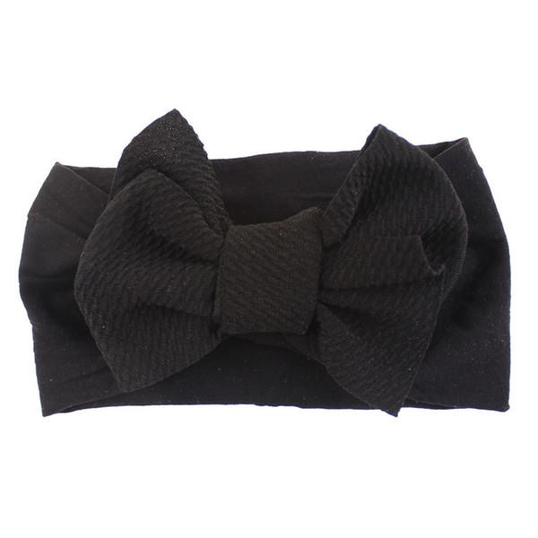 Diademas para 1 Pc Do Bebê Da Menina Da Criança Bowknot Headband Esticar Hairband Headwear diadema bebê menina headbands hot # 06