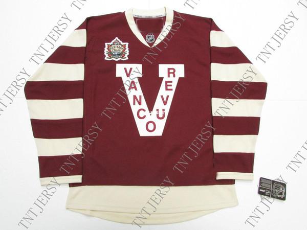 Дешевые пользовательские Бо Хорват Ванкувер Кэнакс 2014 наследие классический хоккей Джерси стежок добавить любое число любое имя мужской хоккей Джерси XS-5XL