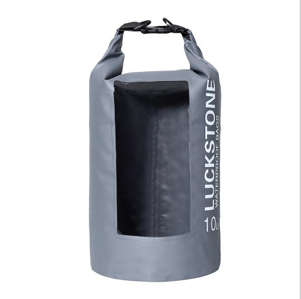 Designer-2019 PVC Water resistant bag Waterproof dry bag outdoor 10L waterproof floating bag with double strap