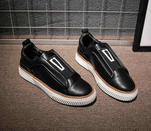 Diseñador estilo surcoreano de lujo de los hombres de los holgazanes ocasionales ClassicTassel Party Leather Shoes Plus Size 38-44 Men Flats Driving Shoes g4.103