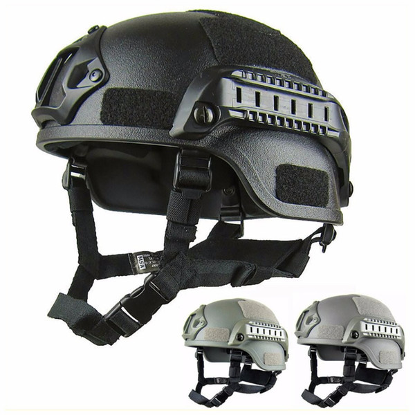 best selling Quality Lightweight FAST Helmet MH Tactical Helmet Airsoft Gear Paintball Head Protective for CS SWAT Riding Hunting Shoot Protect
