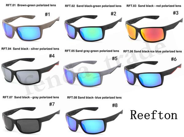 Marka Tasarımcısı Reefton Silikon TR90 Çerçeve Spor Çerçeve polarize Bisiklet UV400 Erkek Kadın Bisiklet Gözlük MALIYETI Spor Güneş Gözlüğü 5 ADET Hızlı