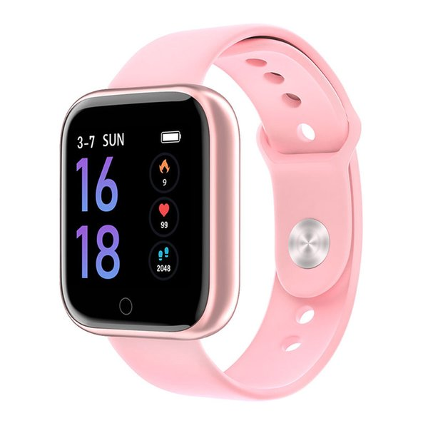 Pink Silicone Strap