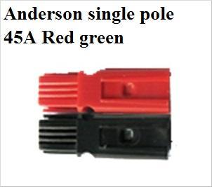 Anderson único pólo 45A Red preto