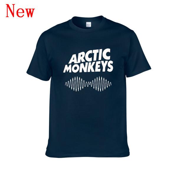 Arctic Monkeys Ses Dalgası Tişörtlü Tee Üst Rock Grubu Konseri-Albümü Yüksek TSHIRT TShirt Tee Gömlek Unisex Daha Boyut ve Renk ZG1