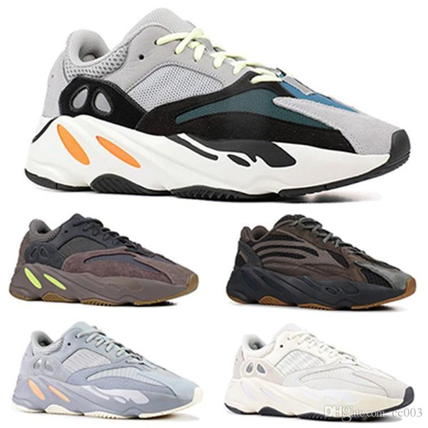 best selling designer shoes 700 Inertia Wave Mens Women Sneakers New Static Mauve Kanye West Sport Shoes Outdoor jogging shoes