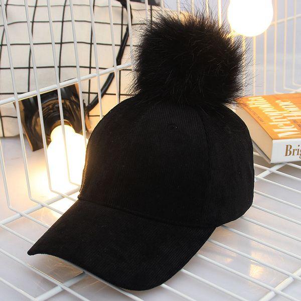 newly women faux buckskin ball suede cap adjustable baseball hats solid hip hop winter autumn warm caps vk-ing
