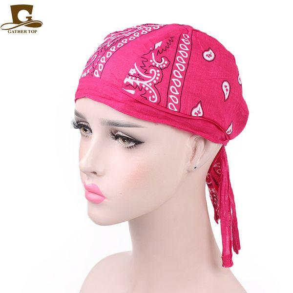 12 Colors Fashion Casual Paisley Patter Kerchief Wrap Head Scarf Bandanas MTB Pirate Beanies Headwarp Hair Accessory CCA11475 120pcs