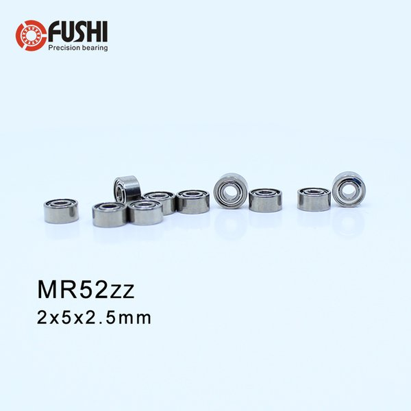 10pcs MR52zz MR52 2x5x2.5mm 2*5*2.5 Metal Shielded Ball Bearing Bearings