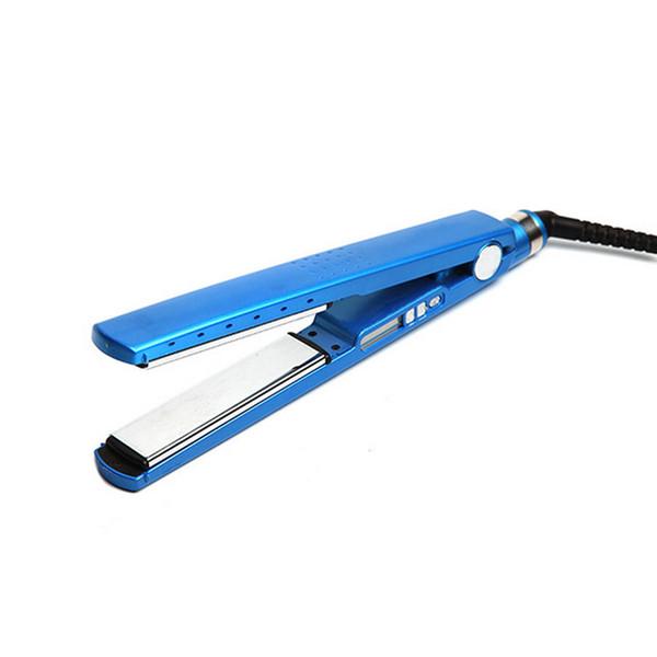 Professional Hair Iron Hair Flat Iron 1/4 Nano Titanium 450F Temperature Fast Hair Straightener Plates
