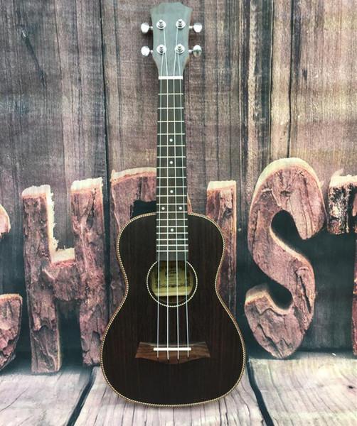 бесплатная доставка специальный укулеле 23 дюймов начинающего студента палисандр uklele небольшой гитары инструмента